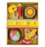 Caissettes et Décors Cupcakes Meri Meri® | Fiesta