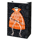 Meri Meri® Halloween | 4 Sacs Papier pour Bougie photophore