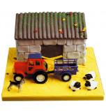 Décors de Gâteaux | Kit Ferme / Tracteur