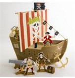 Fête Pirate Meri Meri®   Centre de Table Bateau Pirate Modèle 1