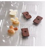CHOCOLATE MOULD, 30 x 40 cm | Bunny House Accessories - Pack of 5