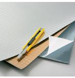 Papier facettes Argent