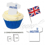 Wafer Toppers | Football T-Shirts 43 x 45 mm - Team England