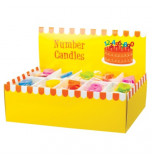 Birthday Candles   Number - 6, 4 cm High