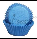 Caissettes Cupcakes - Taille Mini - Bleu Ciel