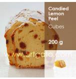 Candied Lemon Peel Cubes