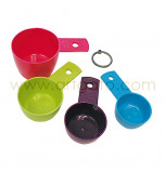 Measuring Cups | Plastic - Set of 4