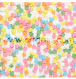 Sugar Confetti | Rainbow Flowers - 240 g Jar