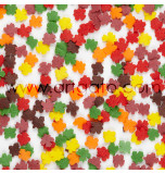 Sugar Confetti | Autumn Leaves - 240 g Jar