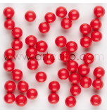 Sugar Pearls | Red - 370 g Jar