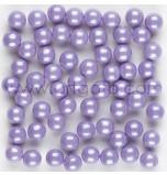 Shimmer Sugar Pearls | Lavender - 80 g Jar