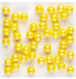 Shimmer Sugar Pearls | Yellow - 370 g Jar