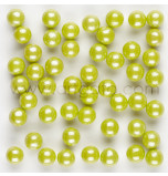 Shimmer Sugar Pearls | Lime Green - 370 g Jar