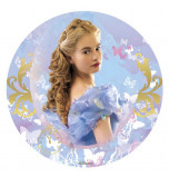Edible Cake Topper | Cinderella (Movie) - Picture, Wafer Cake Disc Ø 20 cm