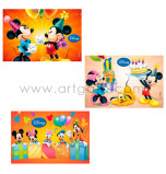 Edible Cake Topper | Mickey & Cie - Celebrations, 12 Wafer Cake Plaques 20 x 30 cm