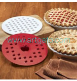 Piecrust Cutter (Pie top Dough Cutter) | Apple - Ø 24 cm