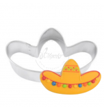 Cookie Cutter - Tinplate | Sombrero / Mexican Hat