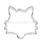 Cookie Cutter - Tinplate | Fox Head