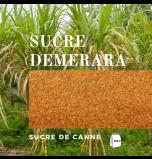 Demerara Sugar - Pack of 500 g