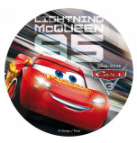 Edible Cake Topper | Cars 3 - Lightning McQueen, Wafer Cake Disc Ø 20 cm