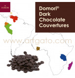 Domori Dark Chocolate Couvertures