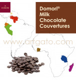 Domori Milk Chocolate Couvertures