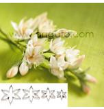 SUGAR FLOWER CUTTERS   Calyx, Set of 4 Sizes - Tinplate