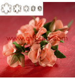 SUGAR FLOWER CUTTERS | 6 Petal Blossom - Small Size, Set of 5 Sizes - Tinplate