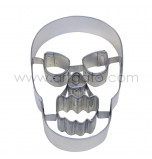 Cookie Cutter - Tinplate | Skull with cutouts