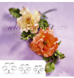 SUGAR FLOWER CUTTERS   Rose - Quick Rose, Set of 3 Sizes - Tinplate