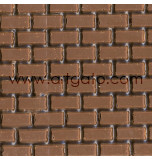 TEXTURED SHEET (IMPRESSION MAT) 30 x 40 cm | Brick Design - Pack of 10