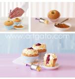 Cupcake Corer, Stainless Steel - Ø 2 cm, 7 cm Deep