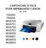 Edible Ink Cartridges for 2017 CANON Printers with CHIPS