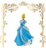 Birthday Figurine | Cinderella with Glass Slipper