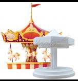 Novelty Cake Dummy | Carrousel - Ø 20 cm x 28 cm High