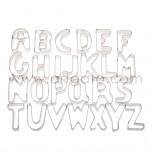Découpoirs, Alphabet - Hauteur 75 mm