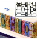Patchwork Cutters® EMBOSSING CUTTER | Book Ends