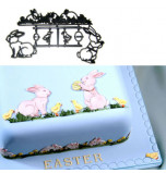 Patchwork Cutters® EMBOSSING CUTTER | Rabbit and Chick Set