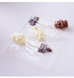 Moule Sucettes Chocolat - Assortiment Halloween