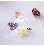 Moule Sucettes Chocolat - Assortiment Cirque