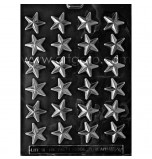 CHOCOLATE (Candy) MOULD | Small Stars