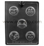 CHOCOLATE (Candy) MOULD | Cookie Mould Emojis / Smileys