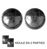 Moule à Chocolat, Ballon de Football (2 moules)