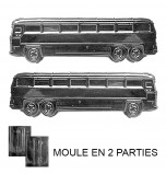 Moule à Chocolat, Bus (2 moules)