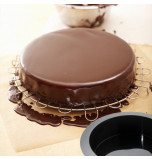 Silicone Mould   SPONGE CAKE – Ø 22 x 6 cm Deep