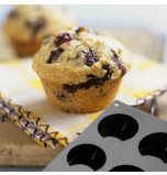 Silicone Mould   6 MUFFINS – Ø 7 x 4 cm Deep