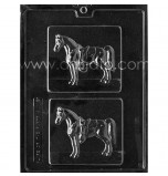CHOCOLATE (Candy) MOULD | Horse Plaques