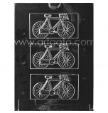 CHOCOLATE (Candy) MOULD | Bicycle Plaques