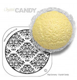 Crystal Candy® Lace Silicon Mould, DAMASK