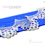 Crystal Candy® Lace Silicon Mat, ARIEL - Double Design